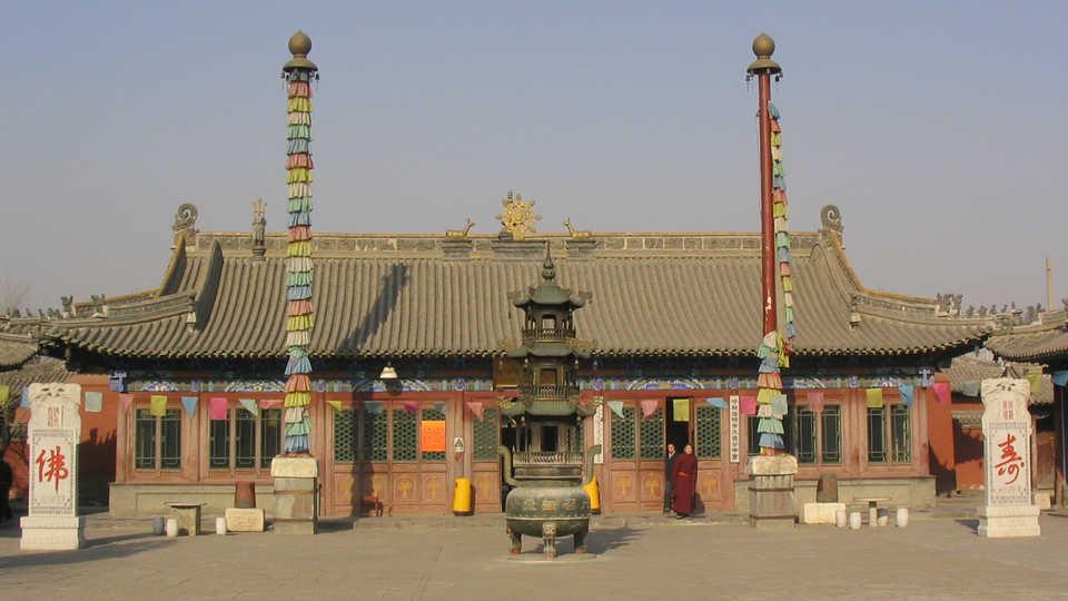 Mongolian Tibetan Buddhist temple